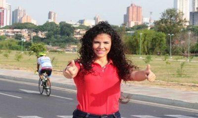Navila Ibarra confirma que peleará por un lugar en la concejalía de Asunción