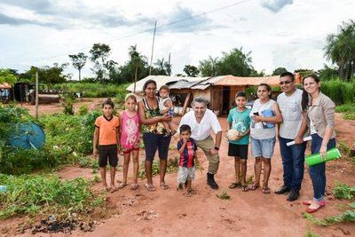 Gobierno fortalece proyectos sociales en distintas zonas del país