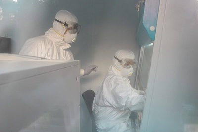 Ministerio de Salud activó laboratorio BSL 3, equipado para estudiar casos de coronavirus