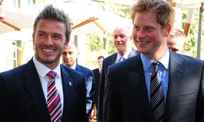 David Beckham expresa su apoyo al príncipe Harry tras su decisión de abandonar la realeza