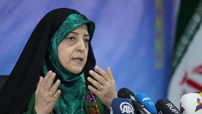 La vicepresidenta iraní Masumeh Ebtekar tiene coronavirus