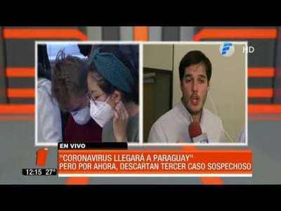 """Coronavirus llegará a Paraguay"""