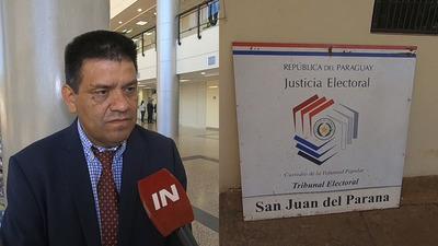 ANUNCIAN ACCIÓN PENAL CONTRA EL JEFE ELECTORAL DE SAN JUAN DEL PNÁ