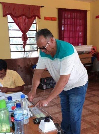 Candidato de ANR se impone en Puerto Adela