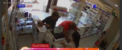 Atraco a una farmacia en Hernandarias