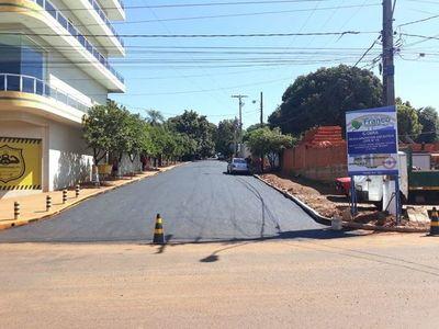 Obras de bacheo y asfalto por G. 2.800 millones en Franco