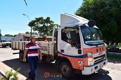Denuncian a Diputado de Añetete por politizar ayuda de la SEN
