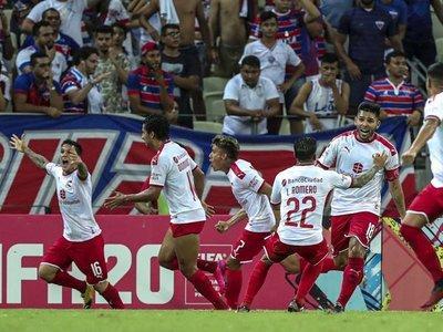 Independiente se clasifica in extremis ante Fortaleza