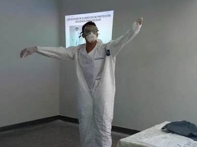 Funcionarios del IPS se capacitan para diagnosticar casos de coronavirus