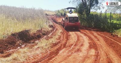 Continúan los trabajos viales en Gral. Artigas para el Rally Trans Itapúa-FIA-CODASUR