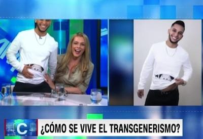 """Trans está """"embarazado"""" de su pareja"""