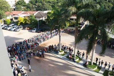 Maratón de empleo del Ministerio de Trabajo con gran participación