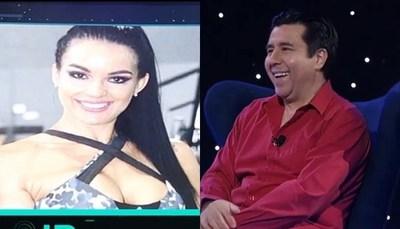 La reacción de Dario González al ver a Gloria Vera