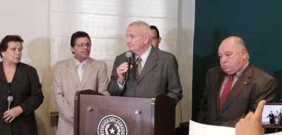 Carlos Altermburguer asume como nuevo Viceministro de Seguridad Interna