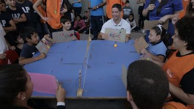 Escuelas inician las clases con juegos inclusivos