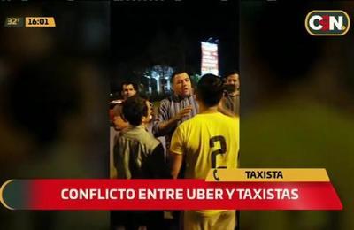 Taxista habla de conflicto con Uber en Aeropuerto Silvio Pettirossi