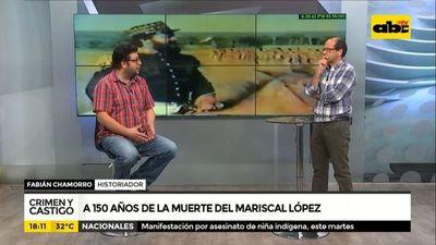 A 150 años de la muerte del Mariscal López