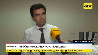 Prisión domiciliaria para supuesto planillero de diputados