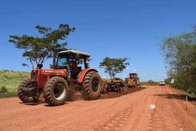 En marcha rehabilitación del tramo vial San Cosme-Atinguy