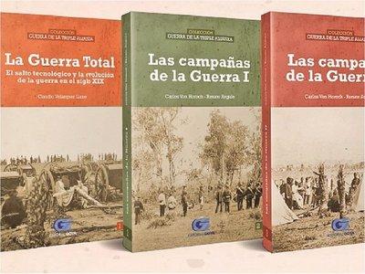 Eventos de la Guerra de la Triple Alianza, con la colección de ÚH
