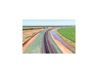 Ruta Bioceánica llega a 64 km asfaltados y tiene avance de 23%