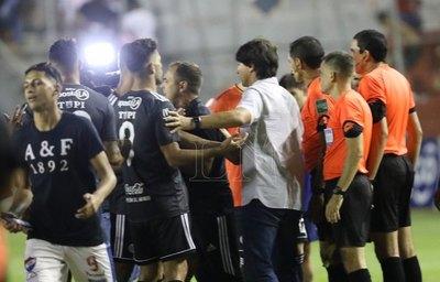 "Sebastián Rambert: ""Fue un partido traumático"""