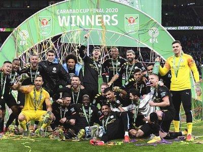 Agüero y Rodri le dan la tercera Copa de la Liga seguida al City