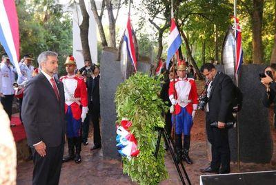 Conmemoran en sesquicentenario de la epopeya nacional en Cerro Corá