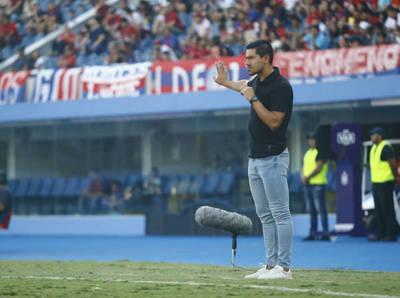 Cristian Martínez aplaude la labor de sus jugadores