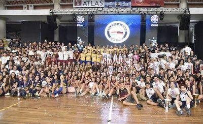 Campeones celebran en cierre del tradicional certamen del American School of Asunción