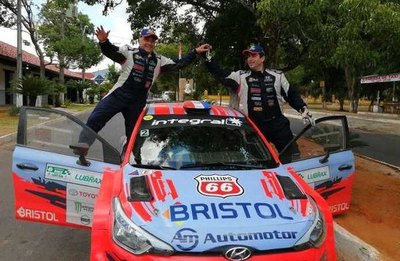 Diego Domínguez ganó el Rally de Santaní