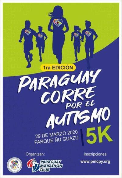 """Organizan I edición """"Paraguay corre por el autismo"""""""