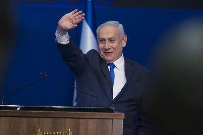 Con el 90% de los votos escrutados, Netanyahu se mantiene en cabeza