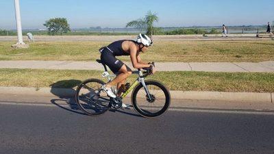 Cristian Aranda, rumbo a triatlón en Argentina