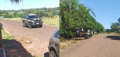 Saltos del Guairá: vecinos denuncian invasión de la Policía Brasileña