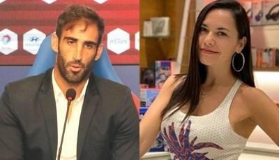 Revuelo por foto de Meli Quiñónez con ex jugador de fútbol