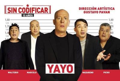 Yayo y elenco traen el humor más jugado a Paraguay
