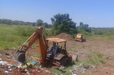 Arranca mejoramiento del vertedero municipal de Loreto