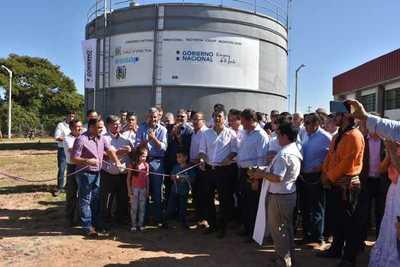 Caaguazú: Inauguran planta de agua potable por valor de US$ 2 millones