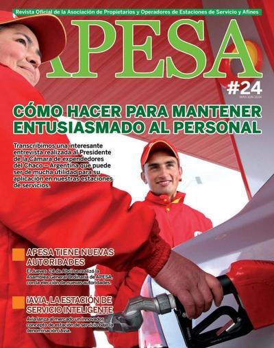 Revista APESA Mayo/Junio 2014