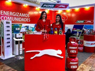 Puma Energy energizó el crecimiento en la Expo Máquina 2019