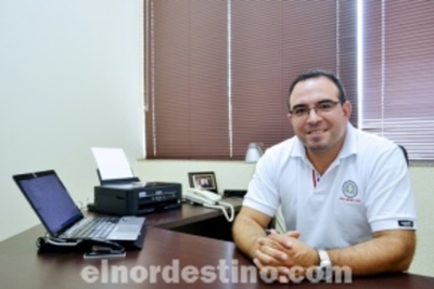 Jorge Medina Rivarola, un profesional que pretende ser protagonista de un futuro mejor para Pedro Juan Caballero
