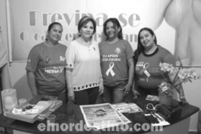 El funcionamiento de la Rede Feminina de Combate ao Câncer Malvina Monteiro en la ciudad de Ponta Porã