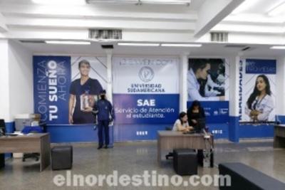 Se abre el primer llamado para interesados en estudiar la Carrera de Medicina en la Universidad Sudamericana
