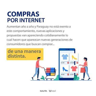 Compras por internet aumentaron entre paraguayos