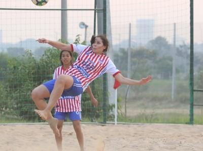 Arrancó el Campeonato de Fútbol Playa Femenino