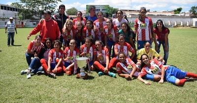 La Selección Sanlorenzana se consagró campeona del Interligas Femenino