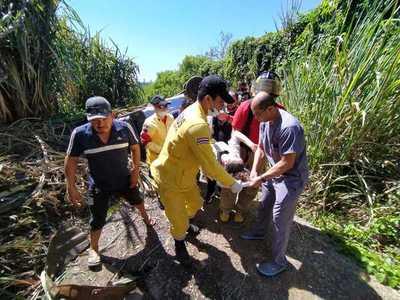 Dos lesionados y cuantiosos daños materiales en distintos accidentes de tránsito en el Alto Paraná