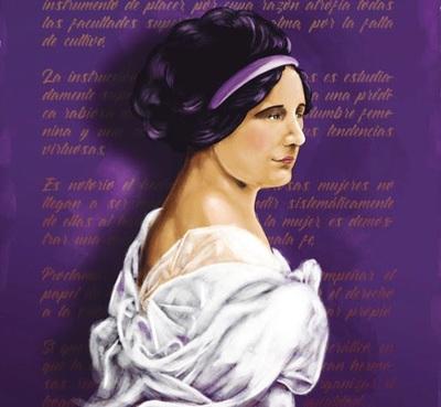 Cómic de Serafina Dávalos conmemora el Día Internacional de la Mujer