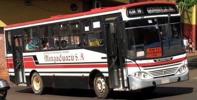 Anuncian billetaje electrónico en el transporte público de Minga Guazú